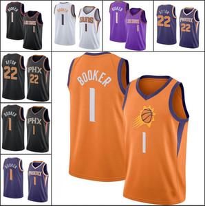 Anka kuşuSunsErkekler Devin Booker Deandre AytonNBA 2019-20 Basketbol Forması