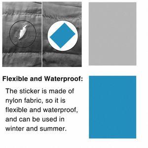 1pc auto adhesivo Patch Carpa camping al aire libre Accesorios de reparación de la cinta impermeable tela de nylon etiqueta de excursión y camping camping Hikin xjm2 #