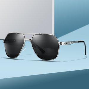 2020 Mens Polarized Sunglasses for Sports Outdoor Driving Polaroid Sunglasses Men Pilot Metal Frame