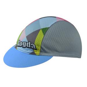 2020 Nueva Aogda 17 colores de alta calidad Cycling Cap de bicicletas Ciclismo Bicicleta del pirata de ciclo del casco de ciclista Cap desgaste Sombrero