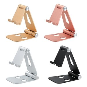 Phone Holder Stand For iPhone 11 Metal Phone Holder Foldable Mobile Phone Stand Desk For iPhone 7 8 X XS 367