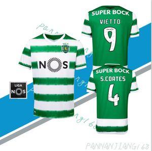 2020-2021 New Sporting Soccer jersey Lisbon Football Shirts 20 21 Ronaldo FERNANDES NANI Football jersey Maillot