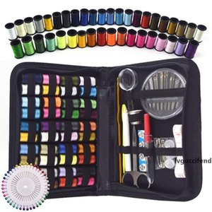 Traveler and Emergency Clothing Fixes 128 Pieces Sewing Kit Premium Repair Set,Complete Needle and Thread Kit for Sewing,Portable Mini Sewing Kit for Beginner