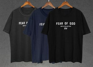 European and American hip-hop tide brand FEAR OF GOD short-sleeved T-shirt tide FOG SITHE COLLECTION XV T-shirt
