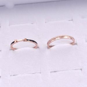 Women's Ring Titanium Steel Anti Allergy Colorless Temperament Simple European and American Fashion Trend Personality Versatile