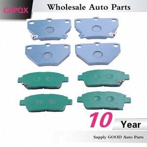 CAPQX 2PCS Freno anteriore Pastiglie 04.466-52.010 04.465-13.050 Per YARIS VERSO CELICA PRIUS COROLLA 1999-2009 R7dS #