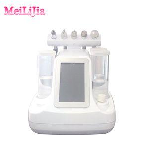 5 em 1 Oxygen Hydrafacial Água limpeza profunda máquina de cuidados da pele facial para o salão e casa