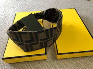 high quality hot sale with box womens designer headband fashion scarf retro cross hair bands with tags headband