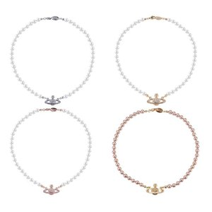 20Women Short Perlen-Ketten-Satelliten Halskette Strass Kugel Claviclekettenhalskette 3 Farben Qualitäts-Schmucksachen