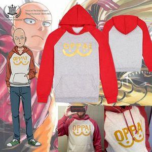 Dropshipping ABD Boyut Bir Punch Adam Kahraman Saitama Oppai 3D Kapüşonlular Unisex Tişörtü Streetwear Casual Eşofman Kazak DDG # yazdır