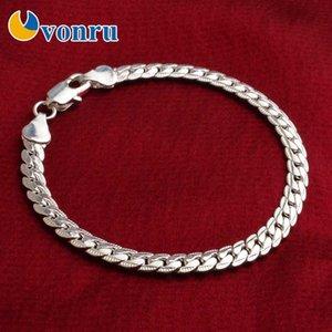 High Quality Gold Chain Bracelets For Man Women Fashion Jewelry Link Chain Bracelets Stylish 5mm Men's Bracelet