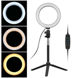 Factory 8 Inch 20 Cm LED Selfie Ring Light Studio Photography Photo Ring Fill Light With Tripod For Smartphone Makeup For Yutube