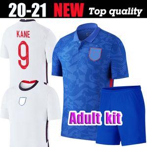 Thailandia Qualità Soccer Jersey 2020 Kane Vardy Dele Lingard Sterling Rashford 20 21 Squadre Nazionali Camicie da calcio Uomo Kit Set Unif Unif