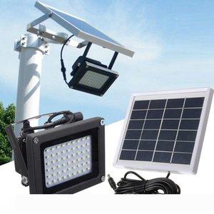 Umlight1688 Luz Solar 54 LED Lamp 4000mAh luz ao ar livre solar jardim lâmpada do jardim Luzes da parede impermeável Lâmpada Solar Poste