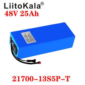 LiitoKala 48V 30Ah 15AH 20AH 25ah Ebike аккумулятора 20А BMS 48v литиевая батарея аккумулятор для Электрический велосипед Электрический самокат