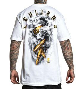 Sullen Mens altın arayıcısı Kısa Kollu T Shirt Beyaz Giyim Konfeksiyon Tees Paten 21St 30 uncudan 40 50Th Doğum Tee Gömlek