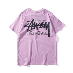 2020 Mens t-shirt das mulheres dos homens de alta qualidade de mangas curtas Fashion Boy London Men Quebra da letra Impressão T do estilista Casual TShirts