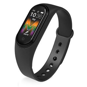 M5 스마트 팔찌 피트니스 추적기 시계 스포츠 제품과 함께 심장 박동 혈압 Smartband 팔찌