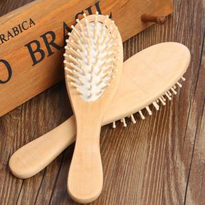 Massagem Hair Care madeira maciça Comb antiestático Detangling Airbag Knot Styling Combs multi função cabeleireiro escova barbeiro Ferramentas 3 35hs B2