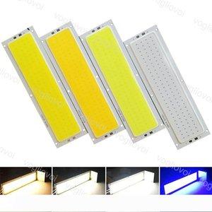 Perles lumière 10W 120x36mm COB bande ampoule 12V LED lampe Panneau de couleur blanc chaud à froid naturel Blue Chip LED d'éclairage pour EUB bricolage
