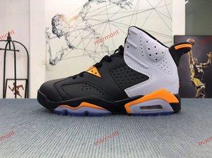 Air Jordan6 shoes scarpe da basket 6-anello degli uomini 6S borsa campione d'argento lupo bianco blu moda Progettista pullman ragazzi e ragazze sportive scarpe da xshfbcl
