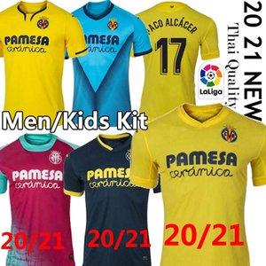 2021 Villarreal CF S.CAZORLA Fußballjerseys 19 20 CHUKWUEZE FORNALS Fußball-Hemd PEDRAZA MORENO Ekambi IBORRA Camiseta de Fútbol Uniformen