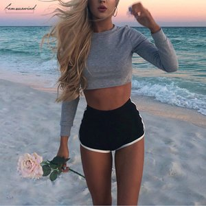 Swimwear Women Summer High Waist Swim Bikini Pants Shorts Sexy Bikini Bathing Suit Beach Wear Bikinis 2020 Woman Swimsuit