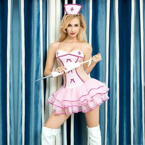 JSY anime uniforme cosplay 6309 JSY sexy sotto infermiera anime COSPLAY indossare biancheria intima sexy infermiera uniforme 6309