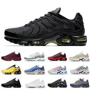 Nuovi Volt Glow TN Inoltre Toggle allacciatura Uomini oro metallico nero corsa Athletic Shoes Multicolor Olimpiadi Cuscino all'aperto Sport Sneakers 40-46