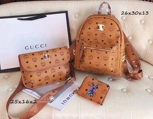 3PCS more style women high quality Three combination handbag new lady shoulder bags crossbody messenger bags Purses backpack knapsack