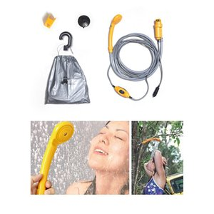 12V Outdoor Shower Set Portable Convenient Universal For Camping Hiking Travel Pet Dog Washer Cleaning Tool Electric Pump Washer