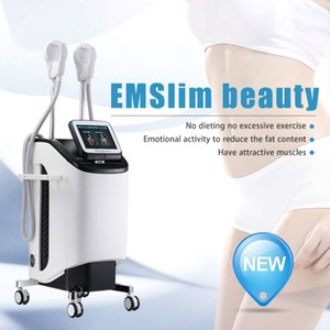 Strong Emslim Muscle Stimulate Ems Body Slimming Device Electro Magnetic Muscle Stimulation Breaks Down Fat Burn Fat Without A Workout
