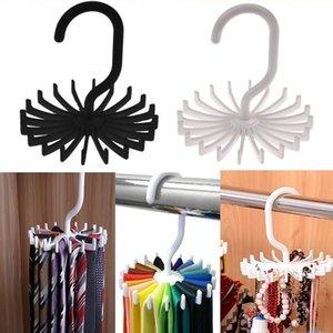 20 Shawl Tie Rack Holds Adjustable Tie Belt Scarf Hanger Holder Hook Ties Scarf for Organizer