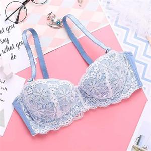 Lace bralette for women padded push up bra lingerie plus size sexy brassiere underwear padded bras