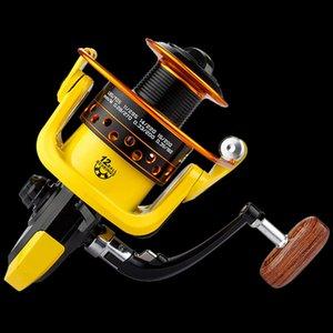 Walk Fish Spinning Reel 12 Ball Bearing Metal Spool Fishing Reel 5.2:1 Fishing Wheels Coil Carp Fishing Tackle Accessories
