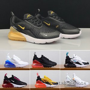 2019 Kids Athletic Shoes Children 27c Basketball Shoes Wolf Grey 27c Toddler Sport Sneakers for Boy Girl Toddler Chaussures Pour Enfant K1A