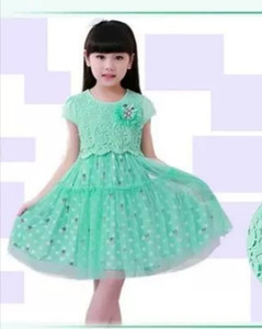 2019 New arrival summer Girl dress Party Sweet Children Fashion Elegant Girls Princess Kids Clothing European style C21 T200713