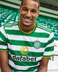 20 21 Celtic Ev Futbol Formaları Edouard 2020 2021 Kahverengi Forrest Christie Futbol Gömlek Griffiths Celtic McGregor Uzakta Siyah Erkekler Jersey