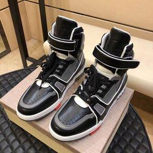 2020 men's high-top TRAINER casual shoes men's knit briefs casual shoes size 38-44 mjk01