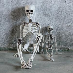40/90 centímetros Crânio Halloween Party Decoração do corpo humano Esqueleto completo Anatomical Esqueleto com Movable Juntas Partido Prop Decor