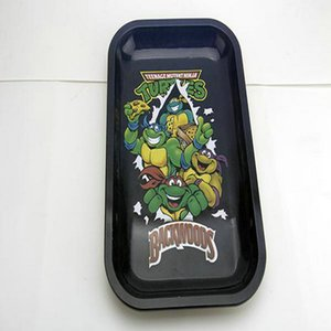 2020 Rolling Tray Cartoon Tray Medium Size 27Cm175Cm23Cm Metal Tray Metal Tobacco Brass Plate Herb Handroller For Smoking Pipes From e2008 h
