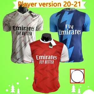 arsenal soccer jersey player version football shirt home red away yellow 플레이어 버전 축구 유니폼 TIERNEY 19 20 CEBALLOS HENRY 축구 셔츠 2019 2020 홈 어웨이 3rd Camisetas DAVID LUIZ maillots
