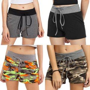 Pu Women Leather Shorts Autumn SUMMER Fashion Rivet Short Elastic Waist Casual Wide Leg Shorts Feminino Cintura Sexemara#4341