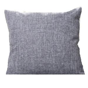 30pcs lot Pillow Cover 13 Colors Linen Cotton Car Pillow Case Cushion Covers Home Decoration For Sofa Throw Pillows Linen Cotton Car
