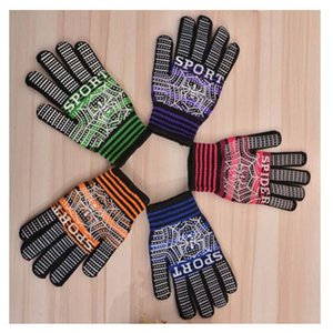 2019 New spider anti-slip dispensing knitted protective gloves new cotton Labor protective gloves
