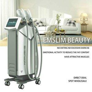 Новая технология Emsculpt мышц Hifem Строительство мышц Сжигать жир Уменьшение целлюлита тела для похудения костюм Эмс терапия машина