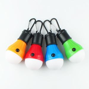 Camping için 3LEDs Mini Açık Acil Lambası Taşınabilir Fener Çadır Ampul