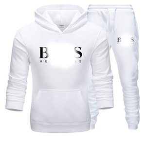 Hugò Bòss Designer Tracksuit Men Luxury Sweat Suits Autumn Brand Mens Jogger Suits Jacket + Pants Sets Sporting Suit Hip Hop Sets