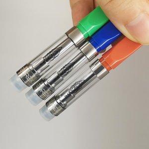 Eureka Svuotare Vape Pen cartucce 1ml 0.8ml vapes Carrelli Packaging Spesso Oil 510 Discussione