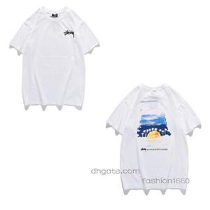 E 2020 hommes Styliste t-shirt shirt femme Haut Orange Blanc Noir T-shirt de qualité T-shirts Taille S-2XL 03